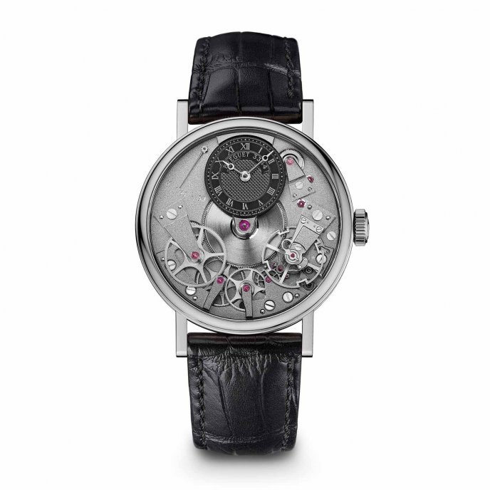 Breguet Tradition 7027BB/G9/9V6 watch face view