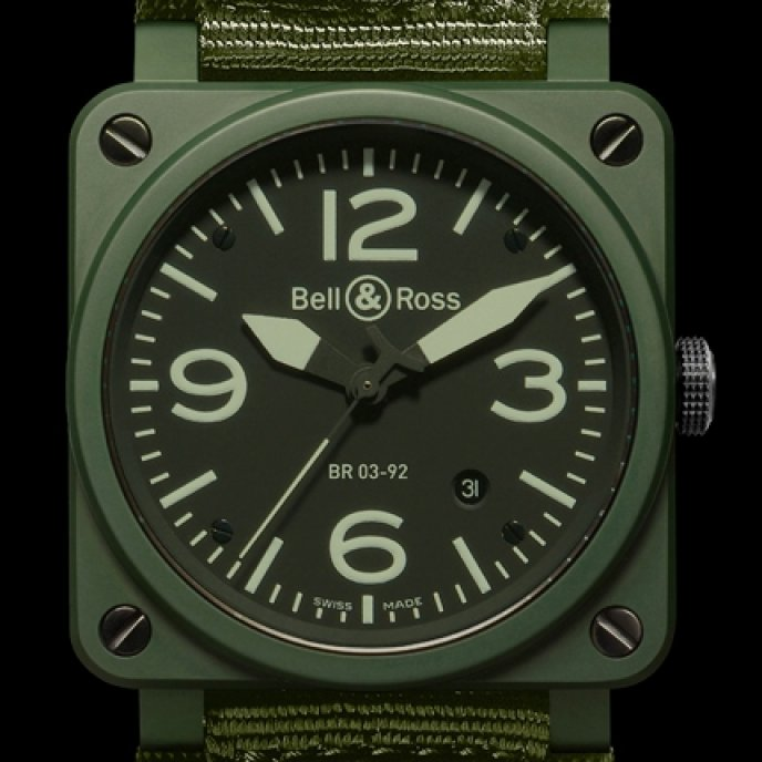 Bell & Ross - Instrument BR 03-92 Military Ceramic