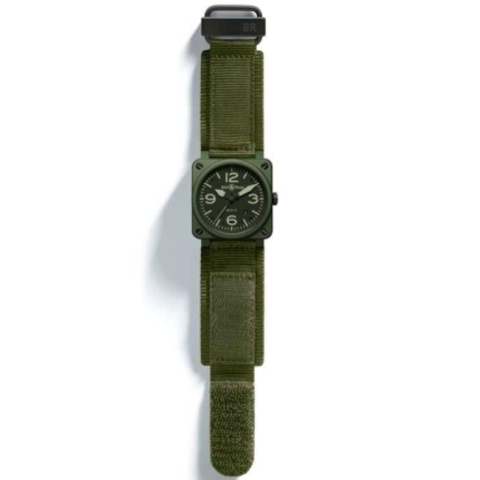 Bell & Ross -BR 03-92 Military Ceramic