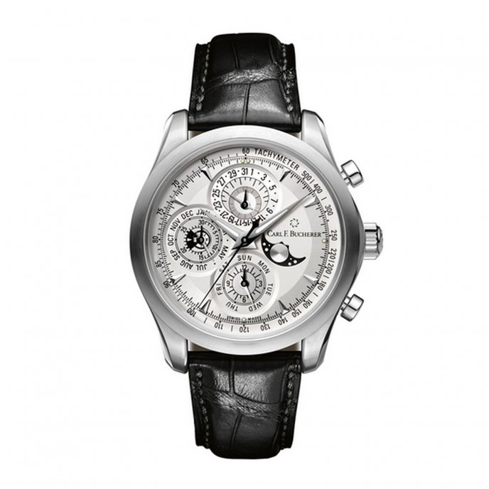 Carl F Bucherer Manero ChronoPerpetual 00.10906.08.13.01 Watch-face-view