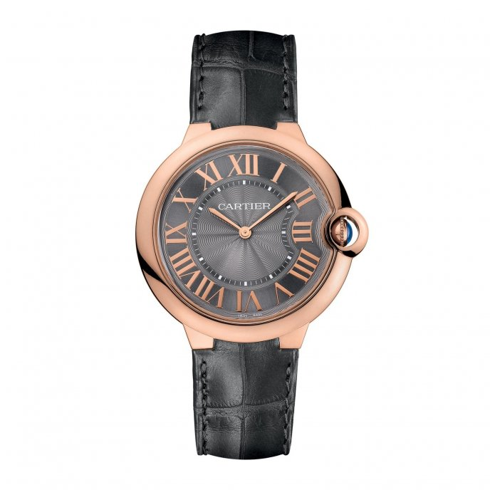 Cartier Ballon Bleu de Cartier Extra-plate or rose - watch face view