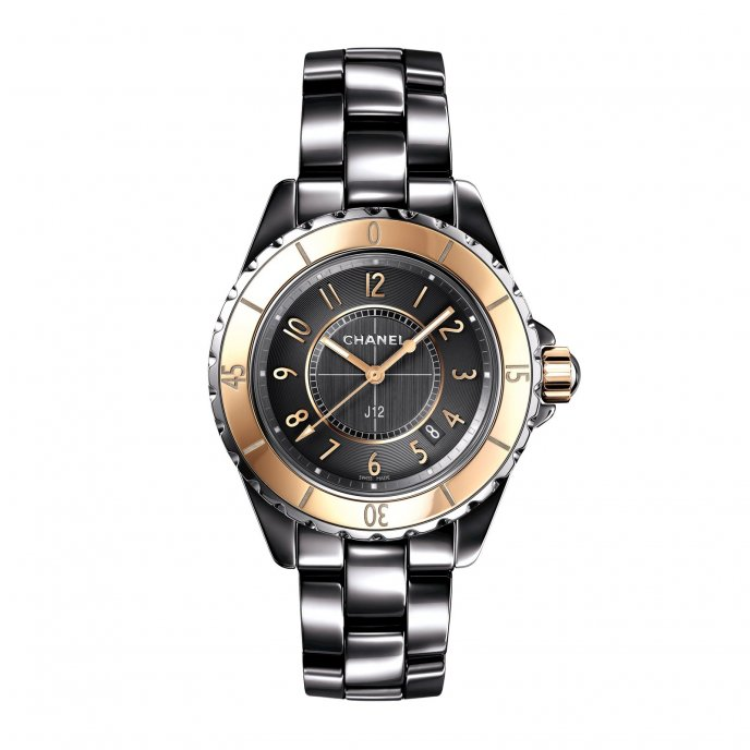 Chanel J12 Chromatic Or Beige 33MM H4197 - watch face view