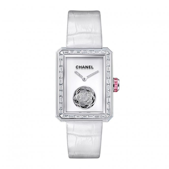 Chanel Première Flying Tourbillon - watch face view
