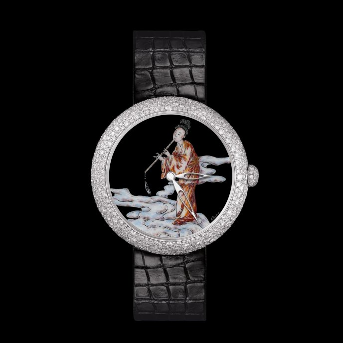 Chanel Twin Volute Enchantée watch-face-view
