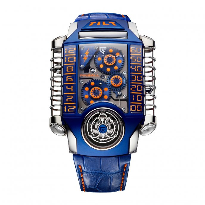Christophe Claret Extreme X-TREM 1 Pinball for Only Watch 2013 - face view
