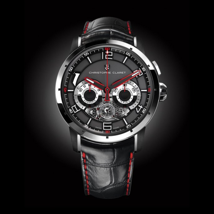 Christophe Claret Kantharos MTR.MBA13.902 watch-face-view