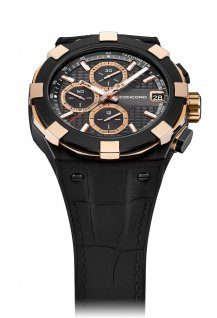 Chronograph Black and Gold