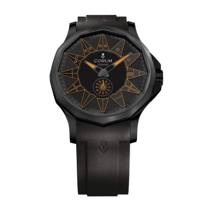 Admiral 42 Automatic Full Black