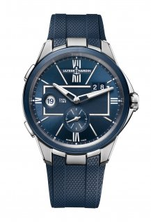 Dual Time Blue