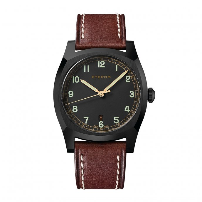Eterna Heritage Military 1939.43.46.1299 Watch-face-view