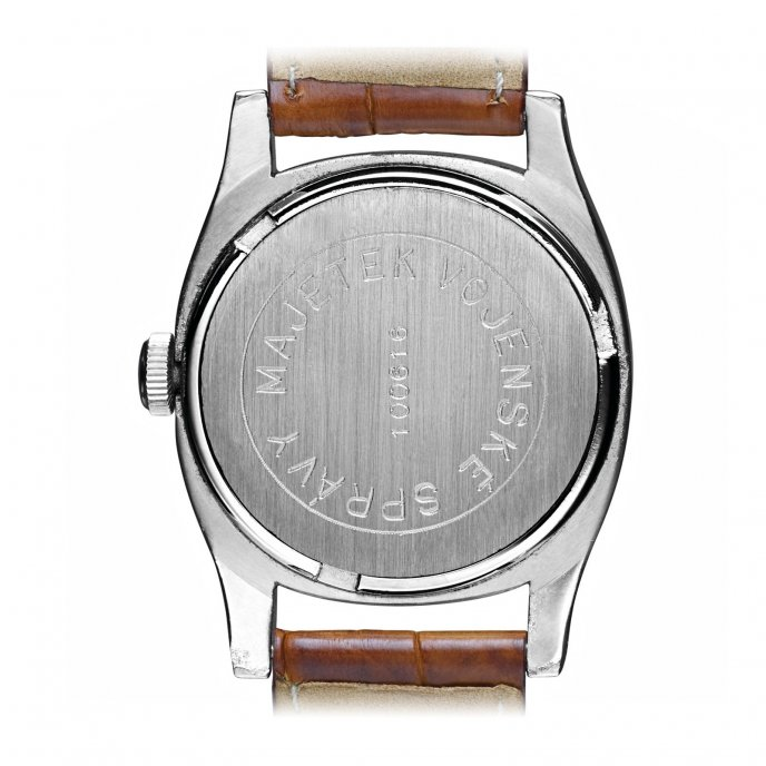 Eterna Heritage Military Watch-back-view