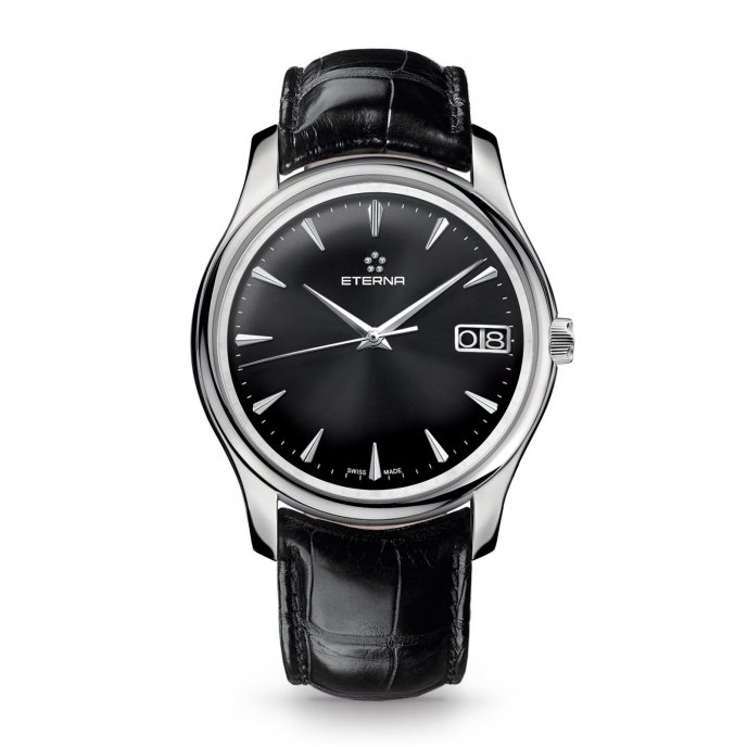 Eterna Vaughan Big Date 7630.41.50.1186 - watch face view