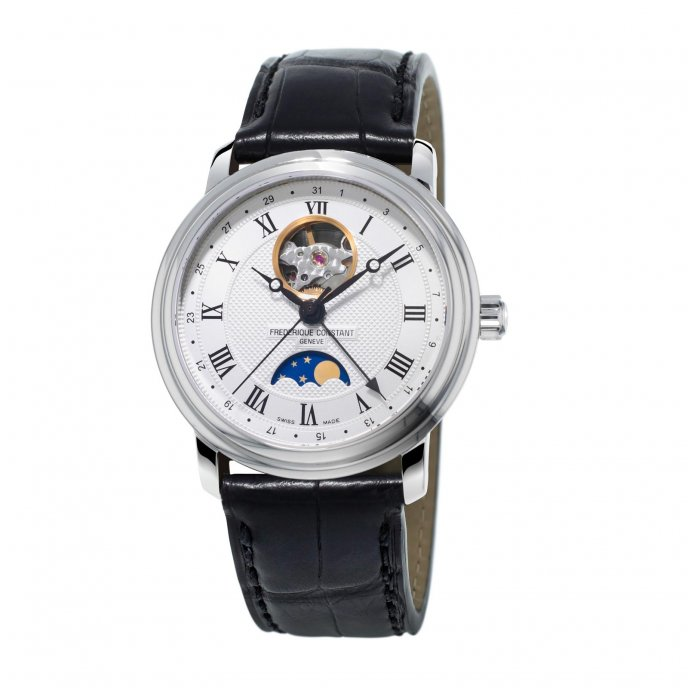 Frédérique Constant Classics Moonphase FC-335MC4P6 watch-face-view