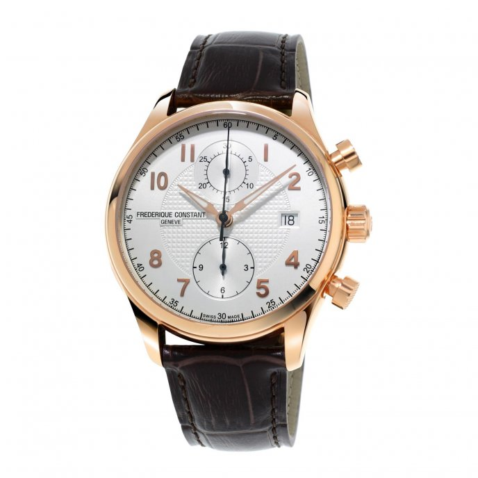 Frédérique Constant Runabout Chronograph FC-393RM5B4 watch-face-view