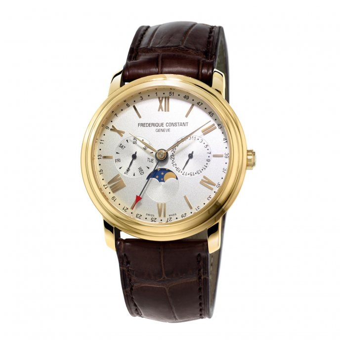 Frédérique Constant Classics Business Timer FC-270SW4P5 Watch-face-view