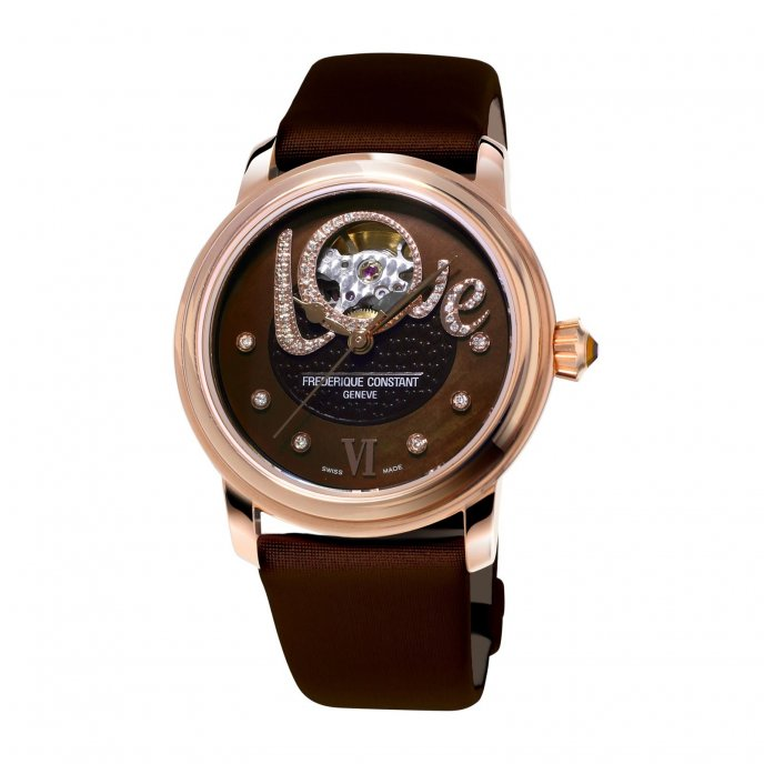 Frédérique Constant Ladies Automatic Love Heart Beat FC-310CLHB2P4 watch-face-view