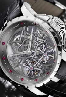 Excalibur Double Tourbillon Squelette