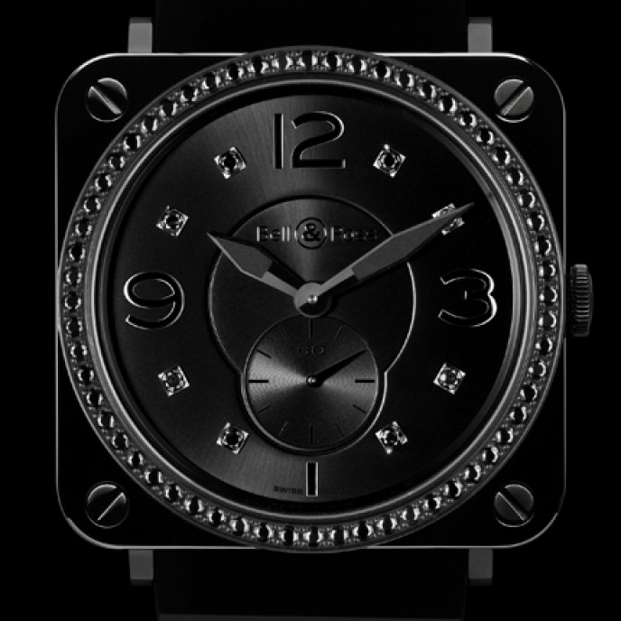 Bell & Ross - BR S Black Ceramic Phantom