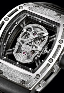 RM 052 Tourbillon Richard Mille Skull