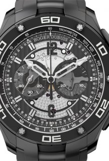 Pulsion Chronograph black titanium