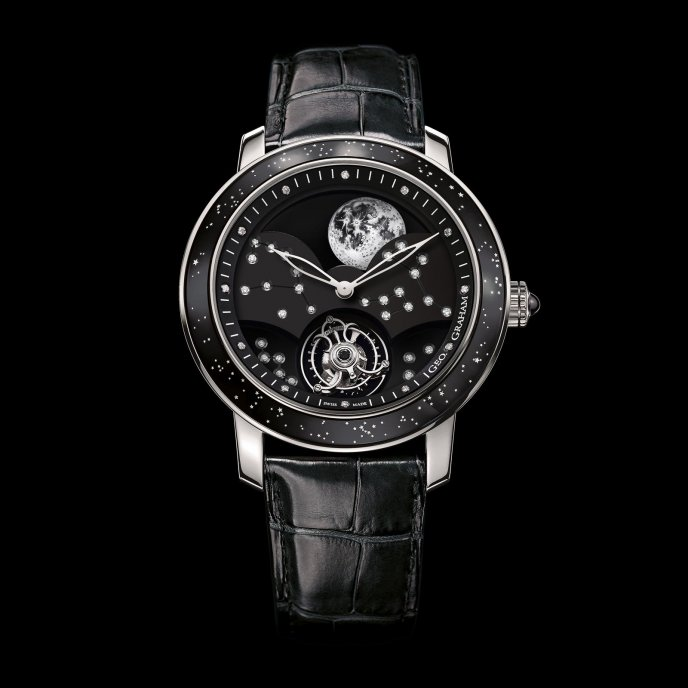 Graham Geo.Graham The Moon 2GGAW.B01A.C154Y - watch face view
