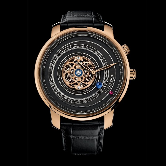 Graham Geo.Graham Tourbillon Orrery 2GGBP.B01A - watch face view