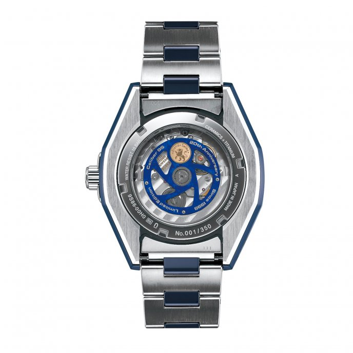 """The Grand Seiko Blue Ceramic Hi-beat GMT """"Special"""" Limited Edition"""