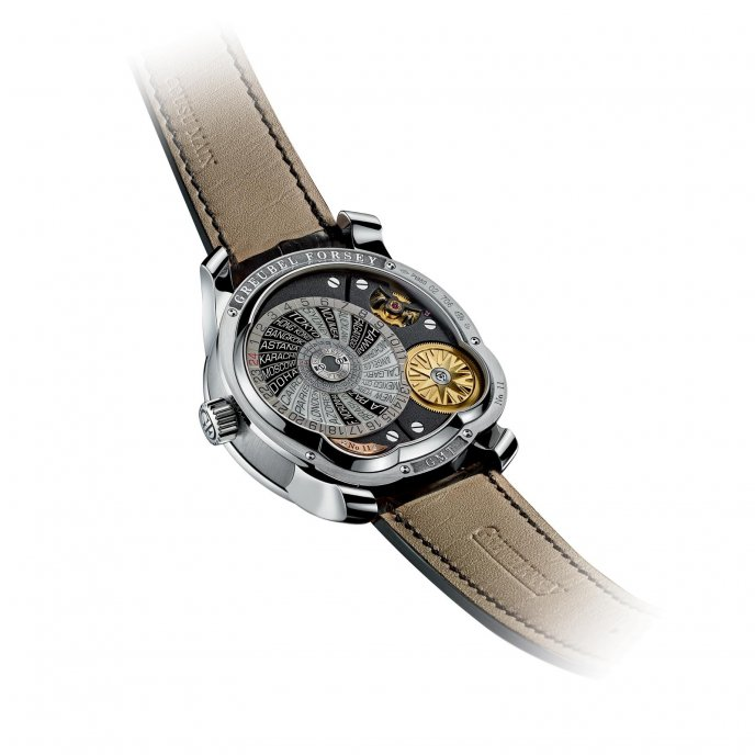 Greubel Forsey GMT platine - back view