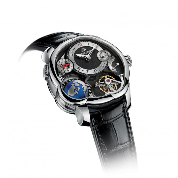 Greubel Forsey GMT platine - face view