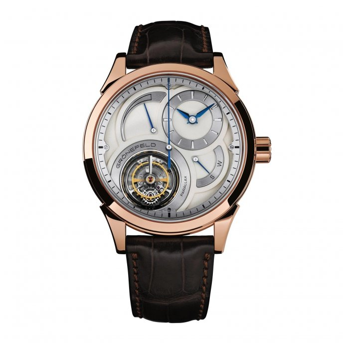 Grönfels Parallax Tourbillon watch-face-view