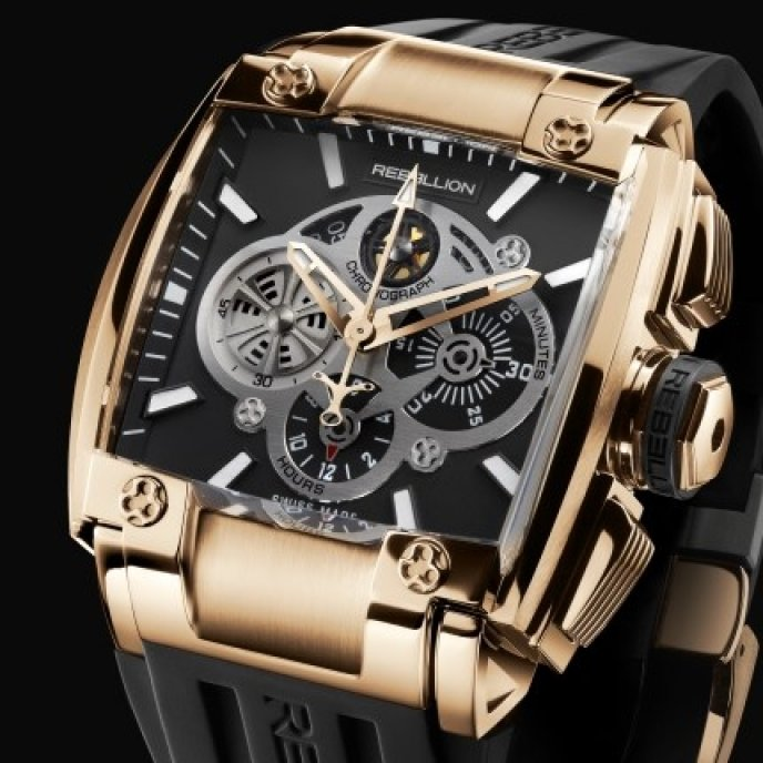 Rebellion - RE-1 Chronograph Red Gold