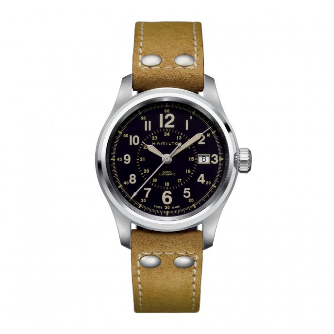 Hamilton - Khaki Field - Officer Auto - H70595593