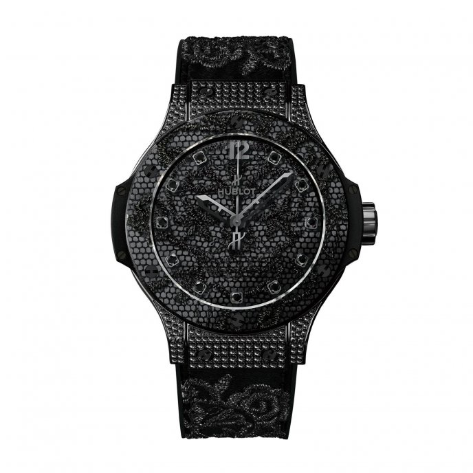Hublot Big Bang Broderie 343.SV.6510.NR.0800 watch face view