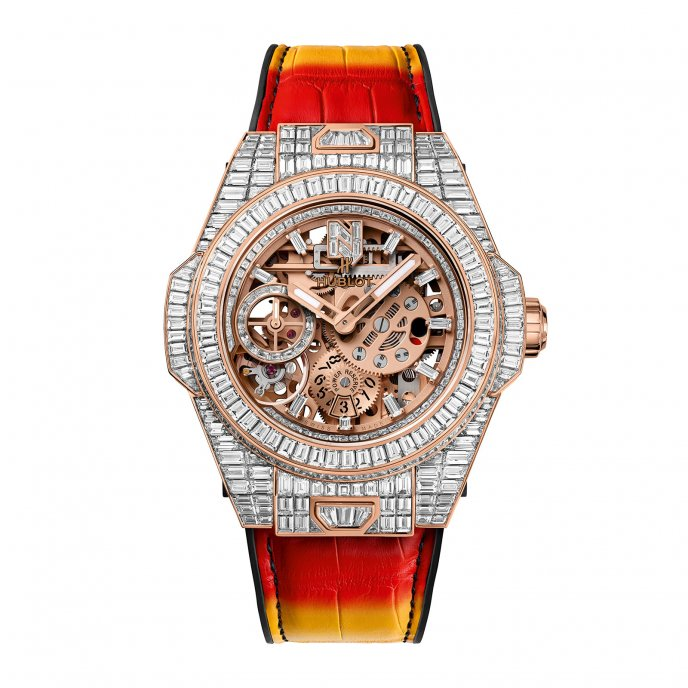 Big Bang Meca-10 Nicky Jam King Gold High Jewellery