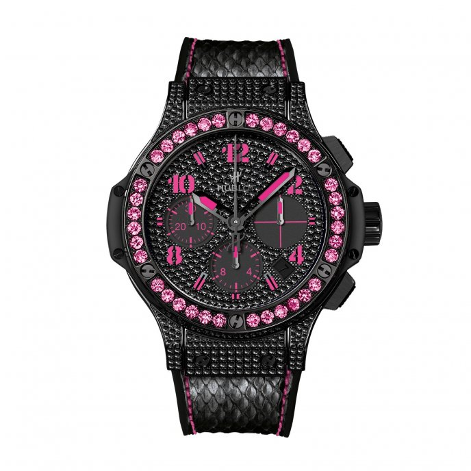 Hublot-Big bang-Black Fluo Pink-341.SV.9090.PR.0933