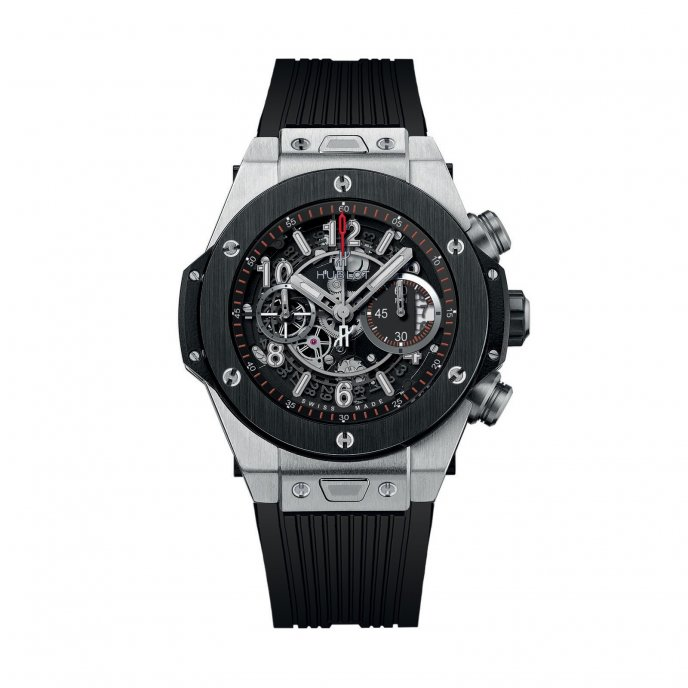 Hublot Big Bang Unico Titanium Ceramic 411.NM.1170.RX - face view