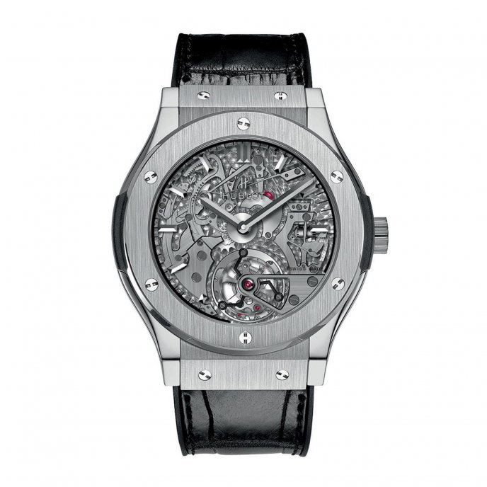 Hublot Classic Fusion Tourbillon Répétition Minutes Cathédrale 504.NX.0170.LR Watch-face-view