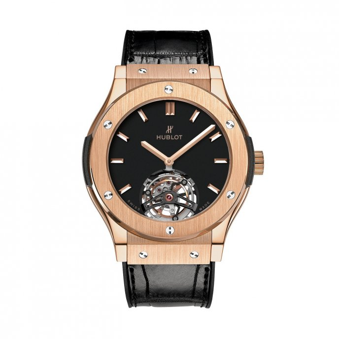 Hublot-Classic Fusion-Tourbillon King Gold-505.OX.1180.LR