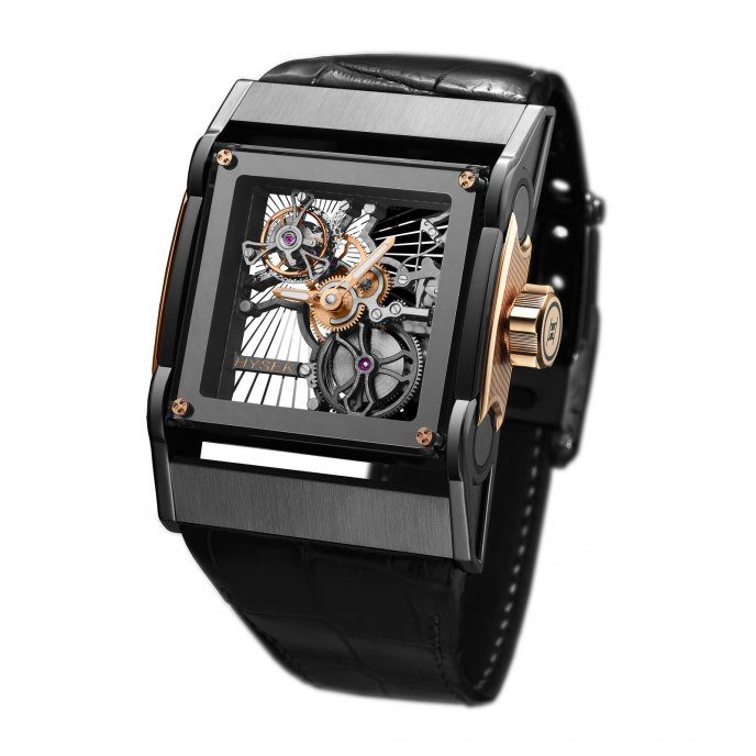 Furtif Tourbillon Squelette