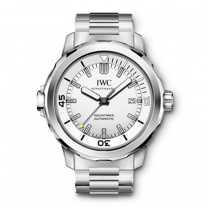 IWC Aquatimer Automatic IW329004 - watch face view