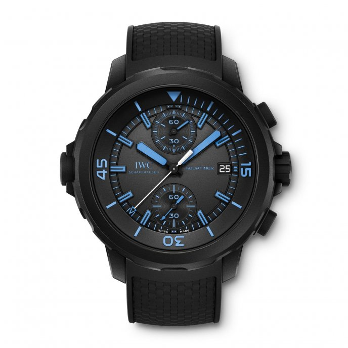 Iwc aquatimer chronograph edition « 50 years science for.