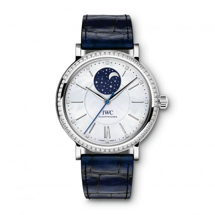 IWC Portofino Midsize Automatic Moon Phase IW459001 watch-face-view