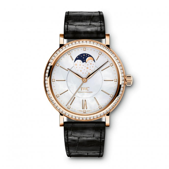 IWC Portofino Midsize Automatic Moon Phase IW459002 watch-face-view