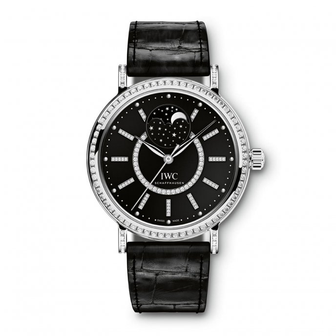 IWC Portofino Midsize Automatic Moon Phase IW459004 watch-face-view
