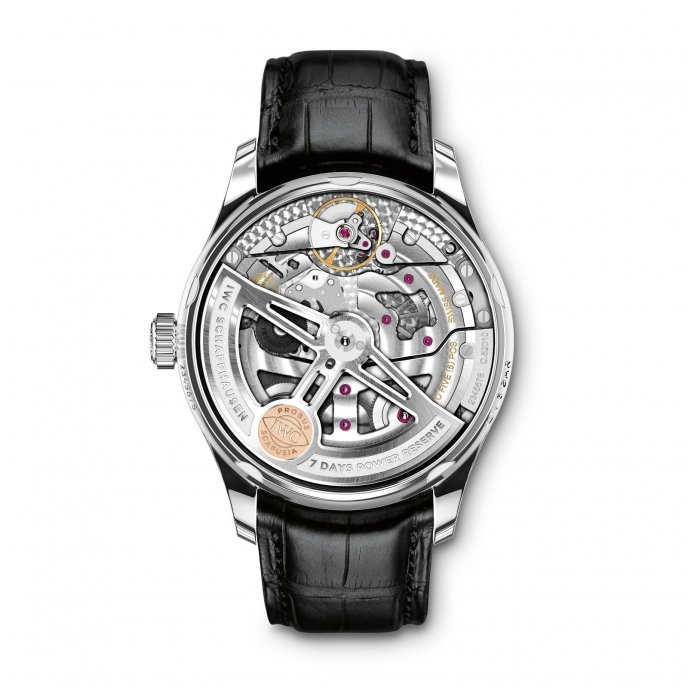IWC Portugaise Automatic IW500704 watch back view