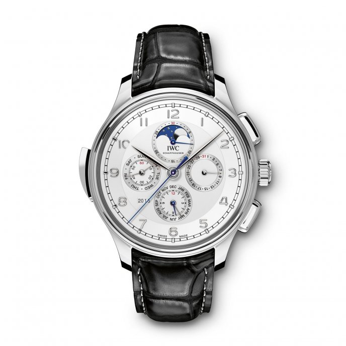 IWC Portugaise Grande Complication IW377601 watch face view