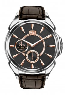 Palatial Classic Manual Big Date Steel Case