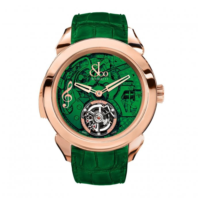 Jacob & Co Palatial Tourbillon Minute Repeater 150.500.40.NS.OG.1NS - watch face view