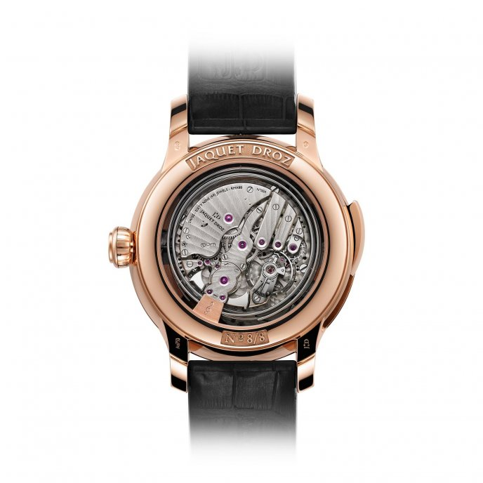 Jaquet Droz Les Ateliers d'Art The Bird Repeater Geneva J031033204 watch back view