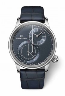 Grande Seconde Off-centered Chronograph  blue